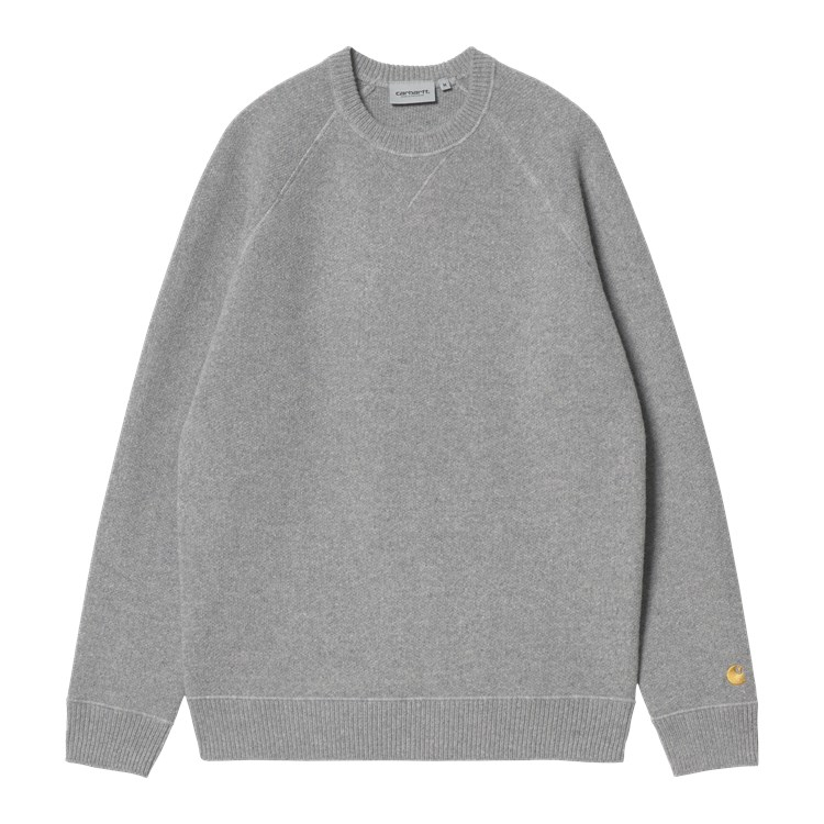 Chase Sweater Grey Heather / Gold