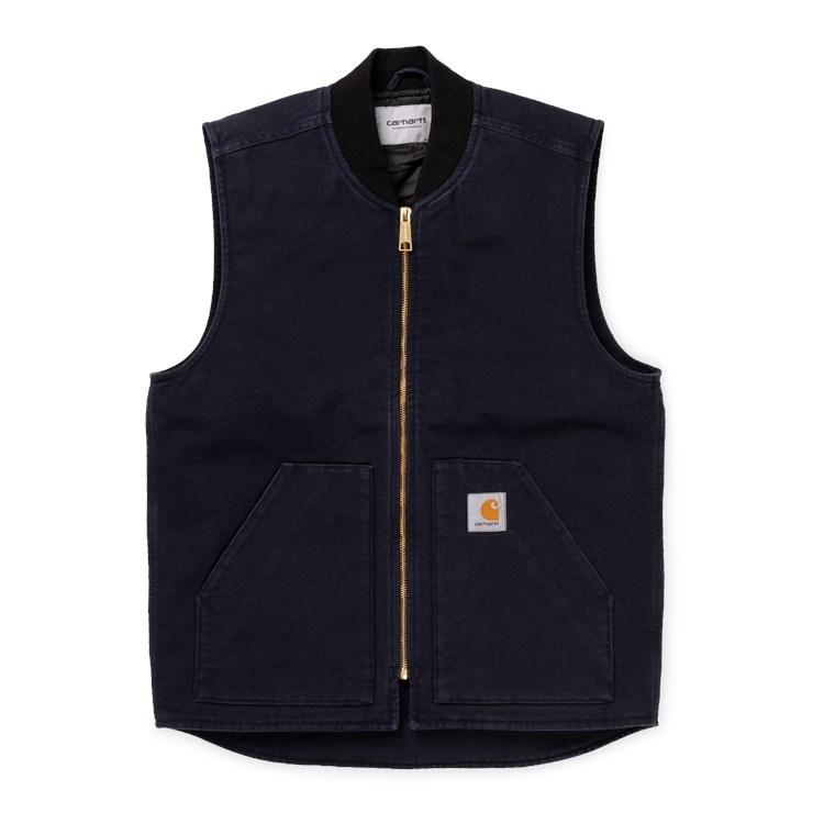 Carhartt WIP Classic Vest Organic Dark Navy