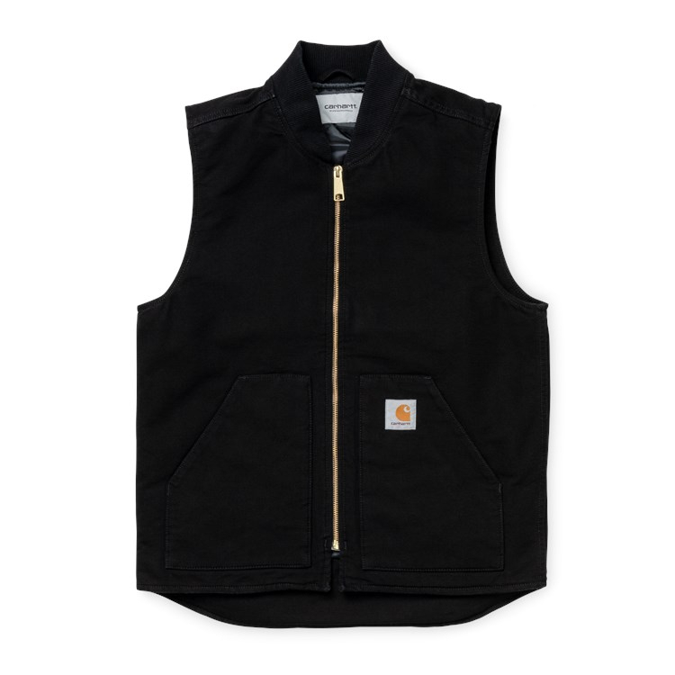 Carhartt WIP Classic Vest Organic Black