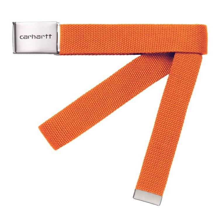 Carhartt WIP Clip Belt Chome Hokkaido