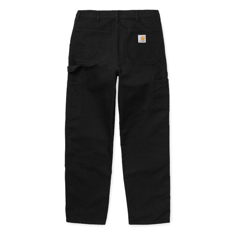 Carhartt WIP Double Knee Pant Black Rinsed