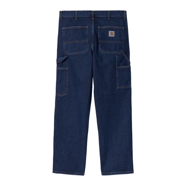 Double Knee Pant Blue Stone Wash
