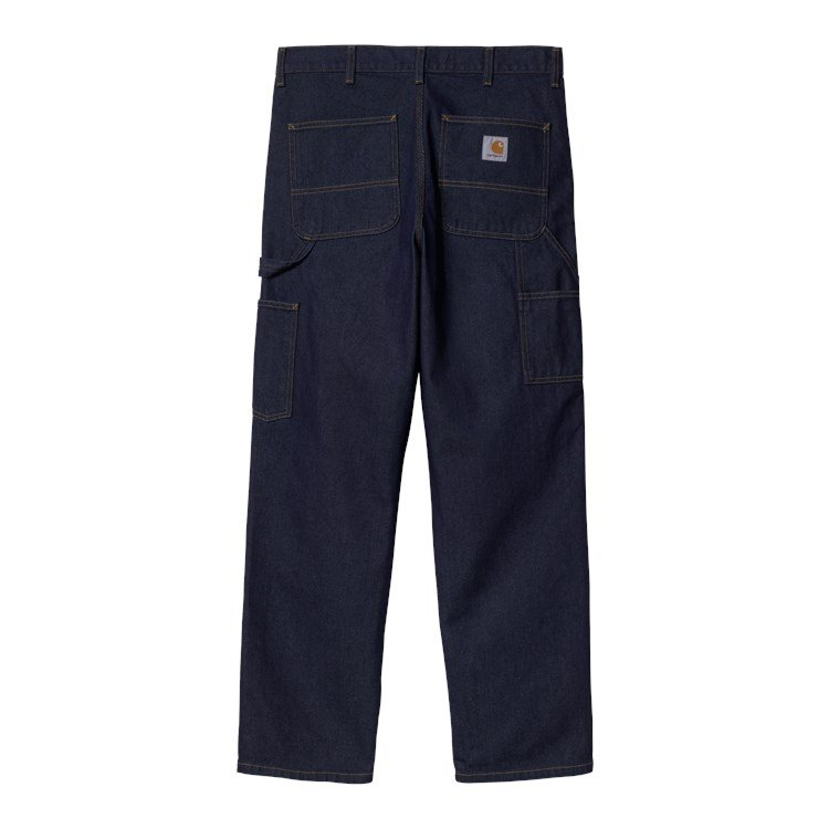 Double Knee Pant Blue One Wash