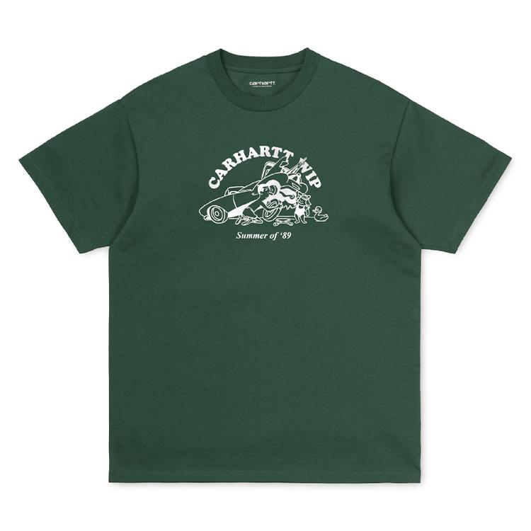 Carhartt WIP S/S Flat Tire T-Shirt Treehouse