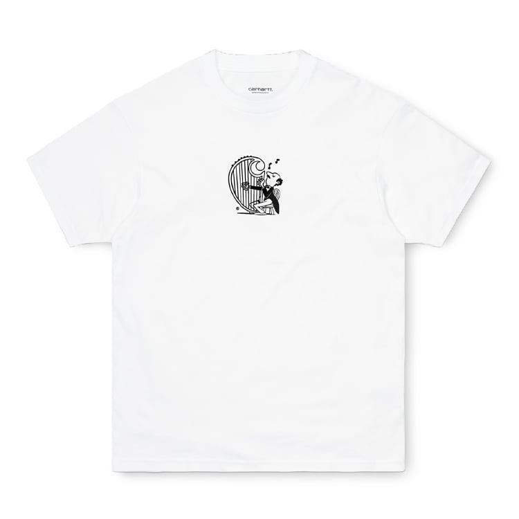 Carhartt WIP S/S Harp T-Shirt White / Black