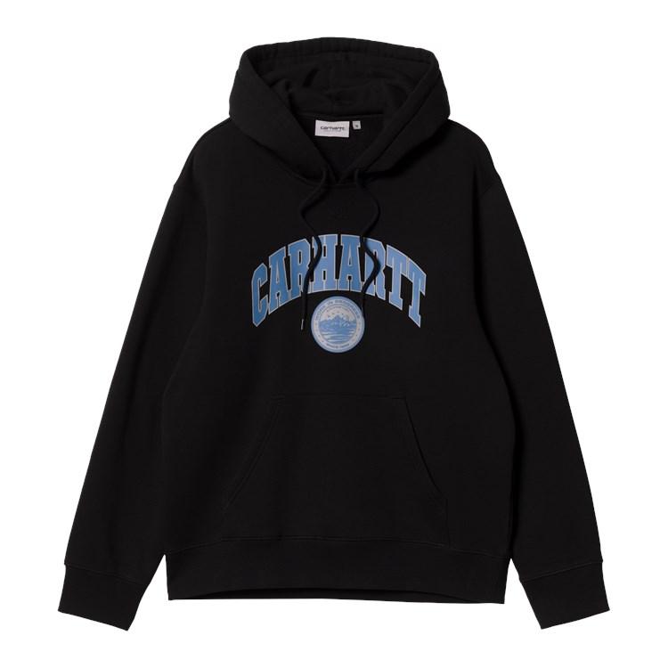 Hooded Berkeley Sweat Black