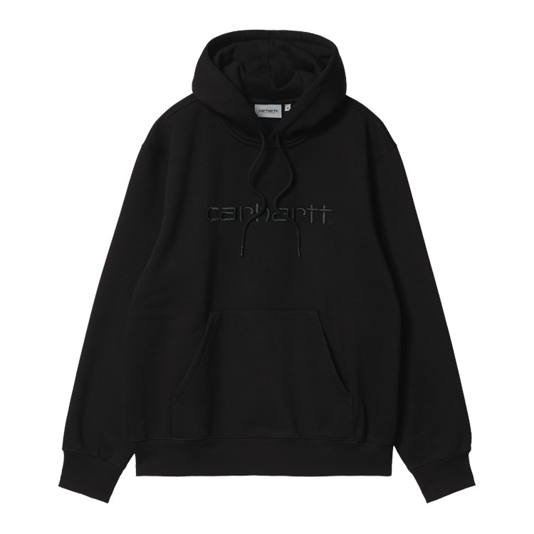 Hooded Carhartt Sweat Black / Black