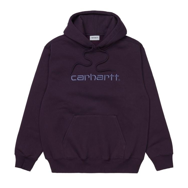 Hooded Carhartt Sweat Dark Iris / Cold Viola