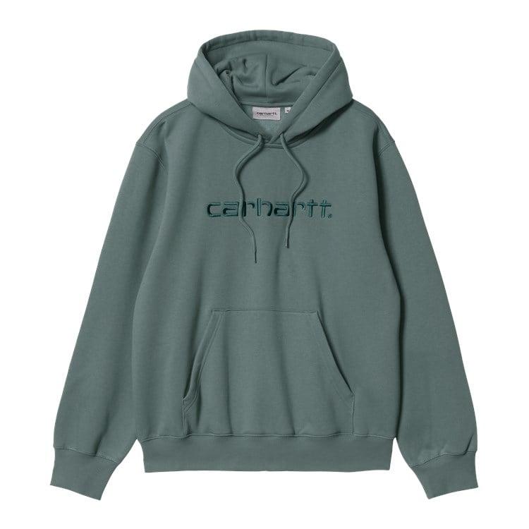 Hooded Carhartt Sweat Eucalyptus / Fraiser