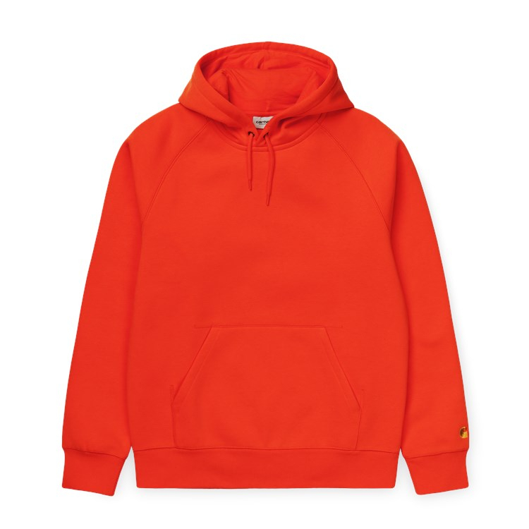 Carhartt WIP Hooded Chase Sweat Safety Orange