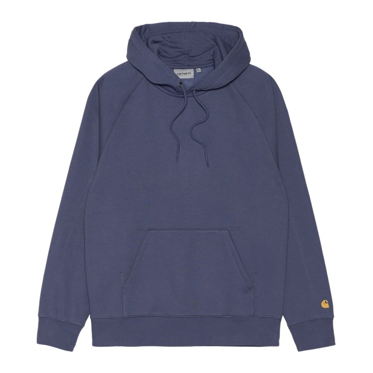 Hooded Chase Sweat Cold Viola / Gold