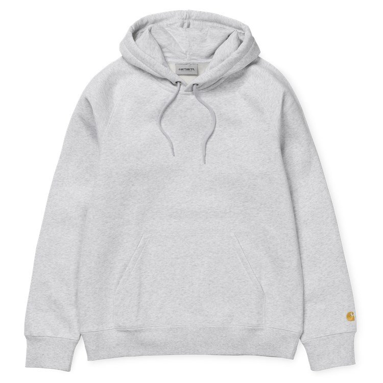 Carhartt WIP Hooded Chase Sweat Ash Heather