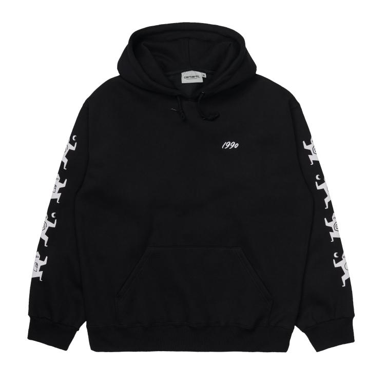 Carhartt WIP Hooded Ninja Tune Sweatshirt Black