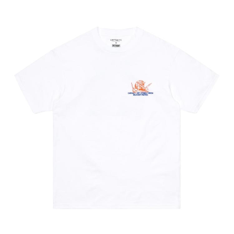 Carhartt WIP S/S Stones Throw T-Shirt White