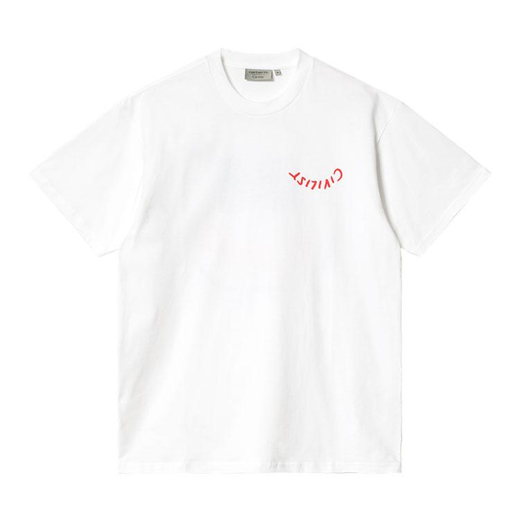 Civilist Logo T-Shirt White