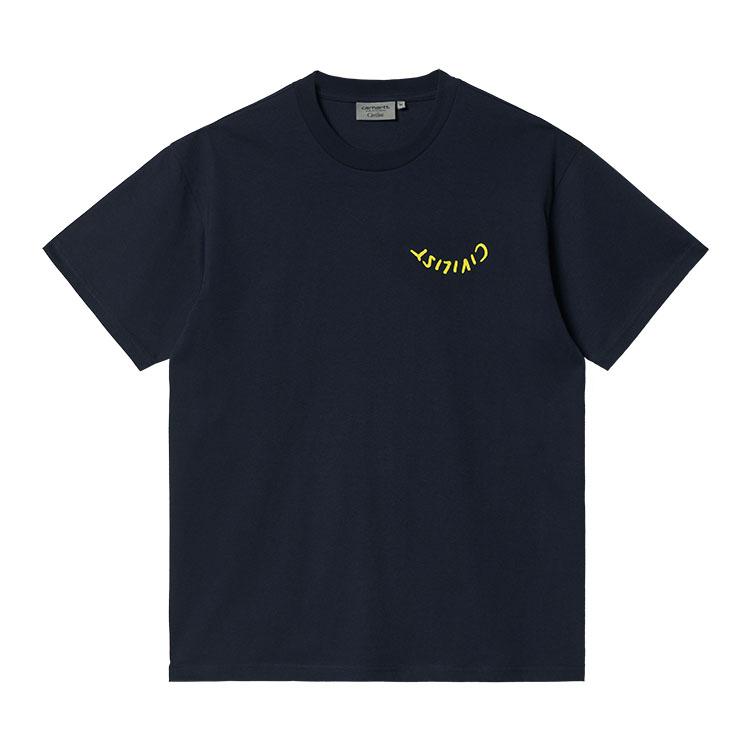 Civilist Logo T-Shirt Dark Navy