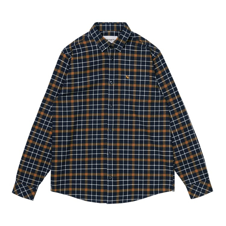 L/S Baxter Shirt Astro / Tawny