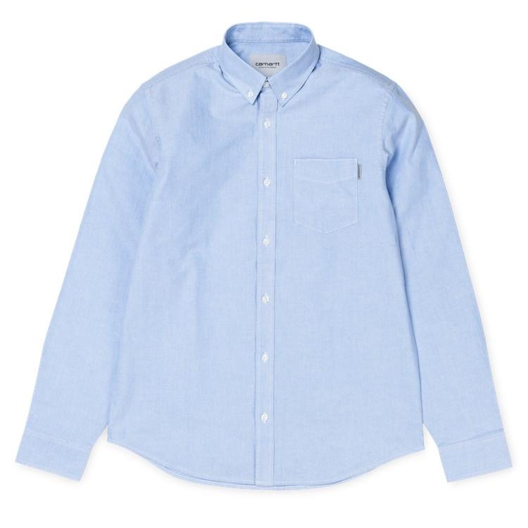 Carhartt WIP L/S Button Down Pocket Shirt Bleach