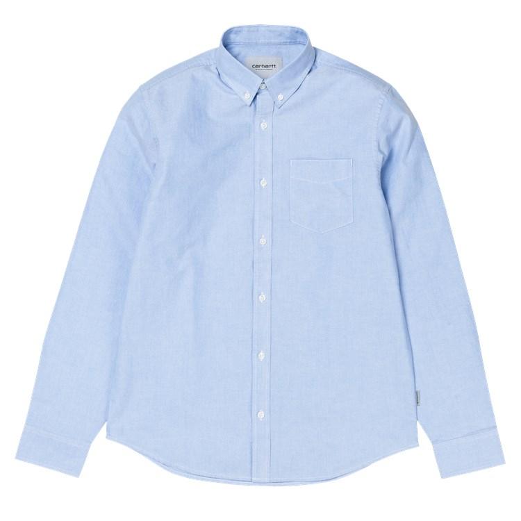 L/S Button Down Pocket Shirt Bleach