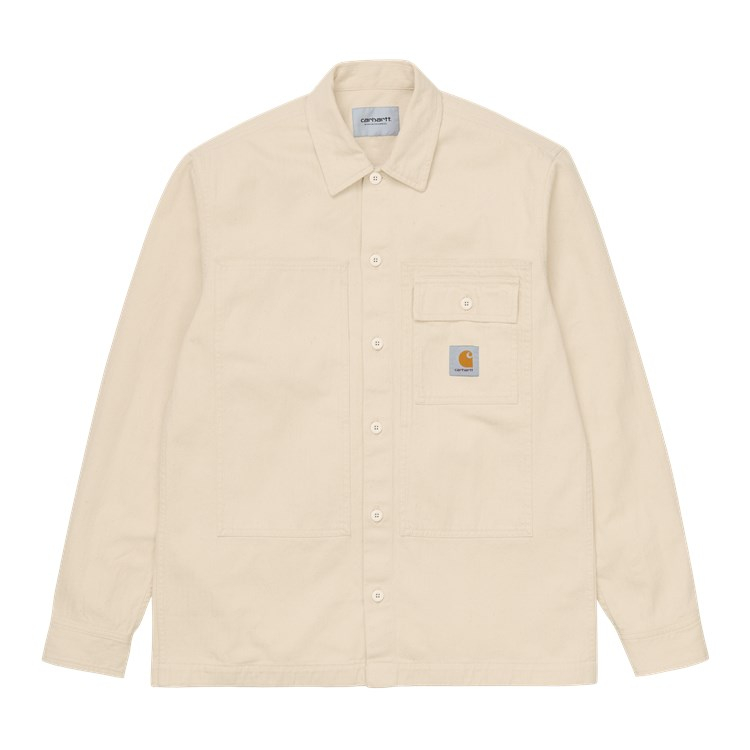 L/S Charter Shirt Natural
