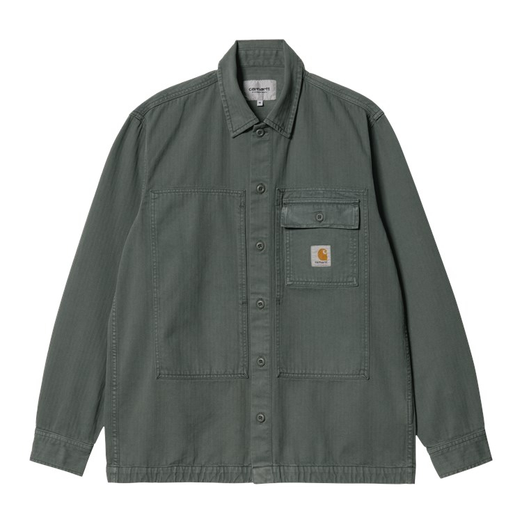 L/S Charter Shirt Thyme