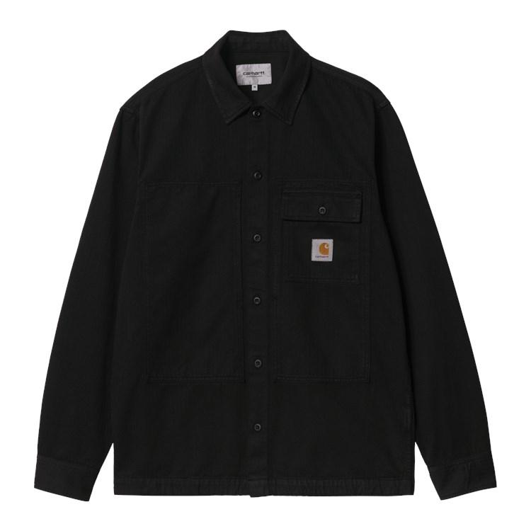 L/S Charter Shirt Black