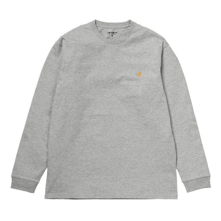 L/S Chase T-Shirt Grey Heather