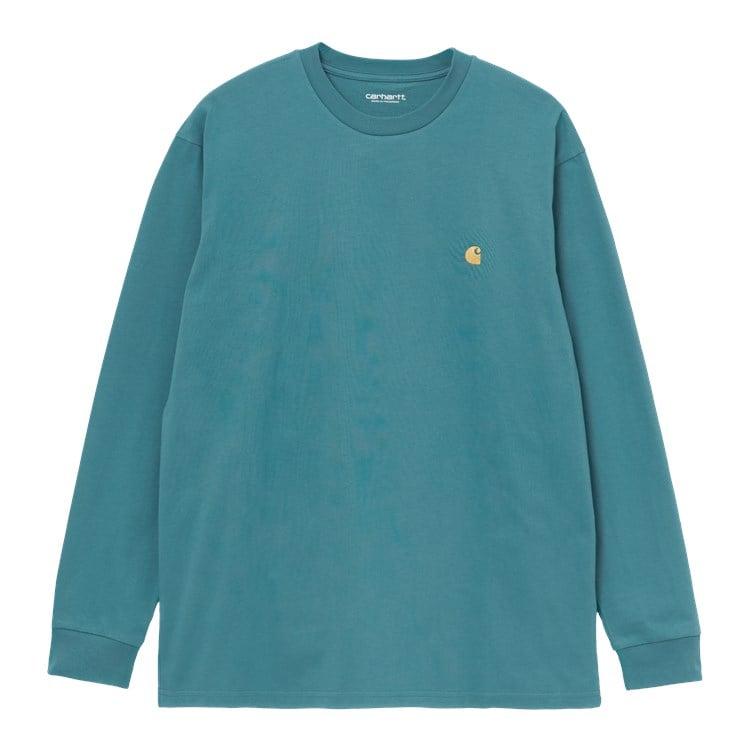 Carhartt WIP L/S Chase T-Shirt Hydro