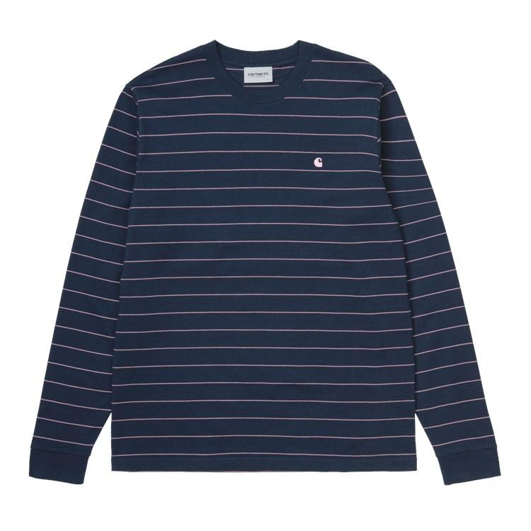 L/S Denton T-Shirt Space / Malaga