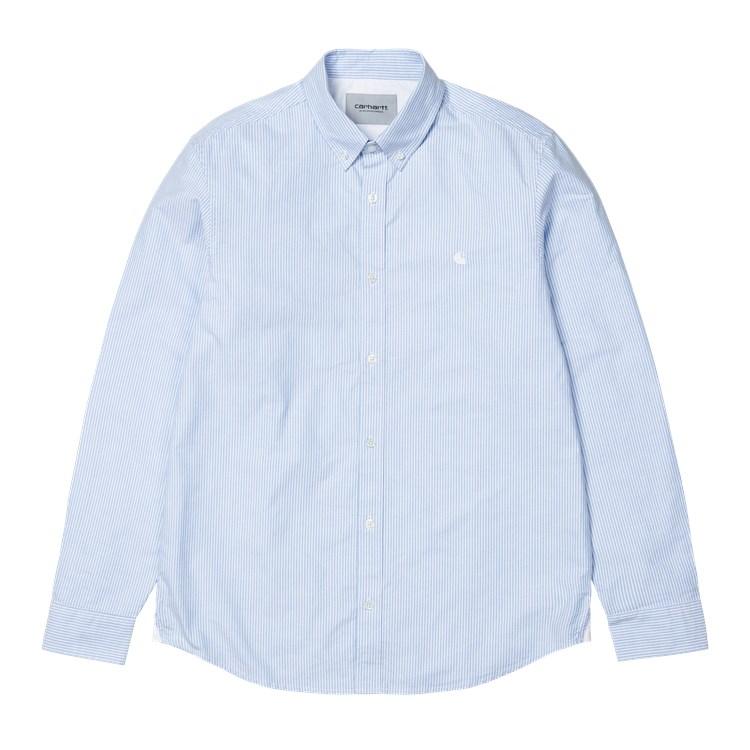 L/S Duffield Shirt Bleach / White