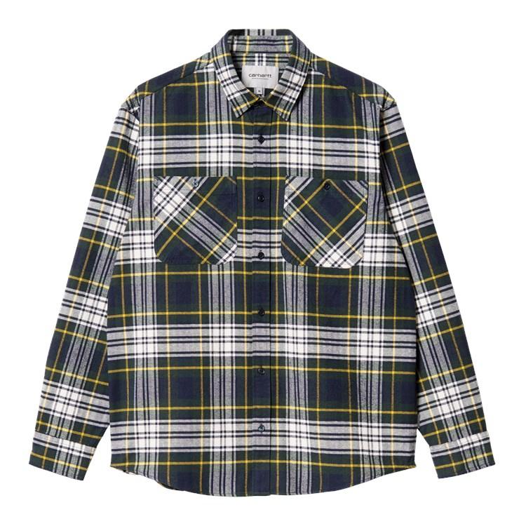 L/S Dunbar Shirt Grove Check