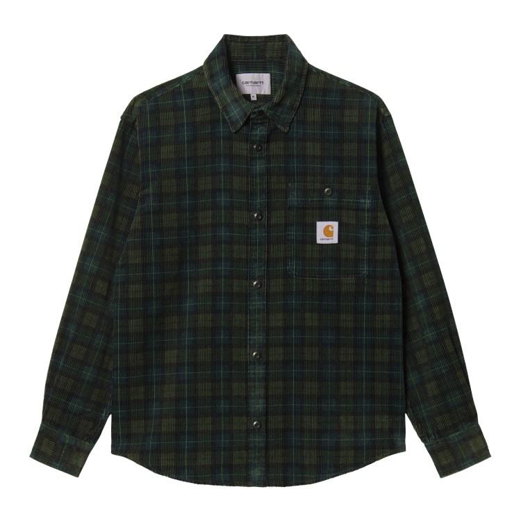 L/S Flint Shirt Check Grove