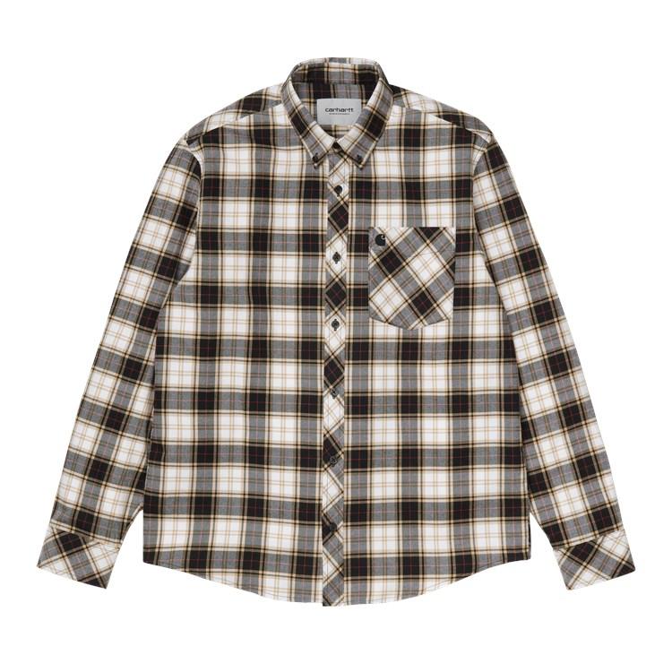 Carhartt WIP L/S Irvin Shirt Black