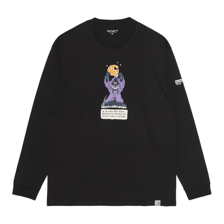 L/S KOGANKULT Level T-Shirt Black