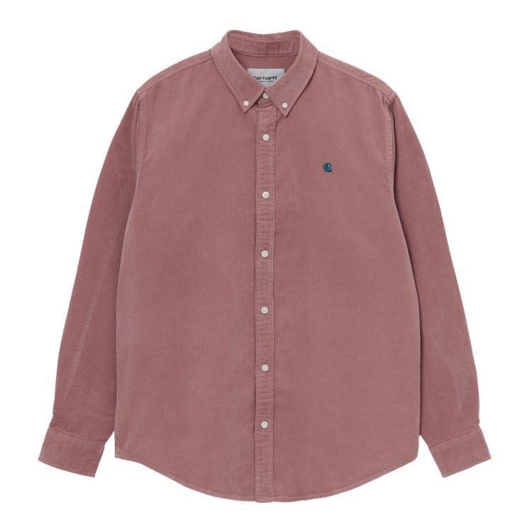 Carhartt WIP L/S Madison Fine Cord Shirt Malaga / Corse