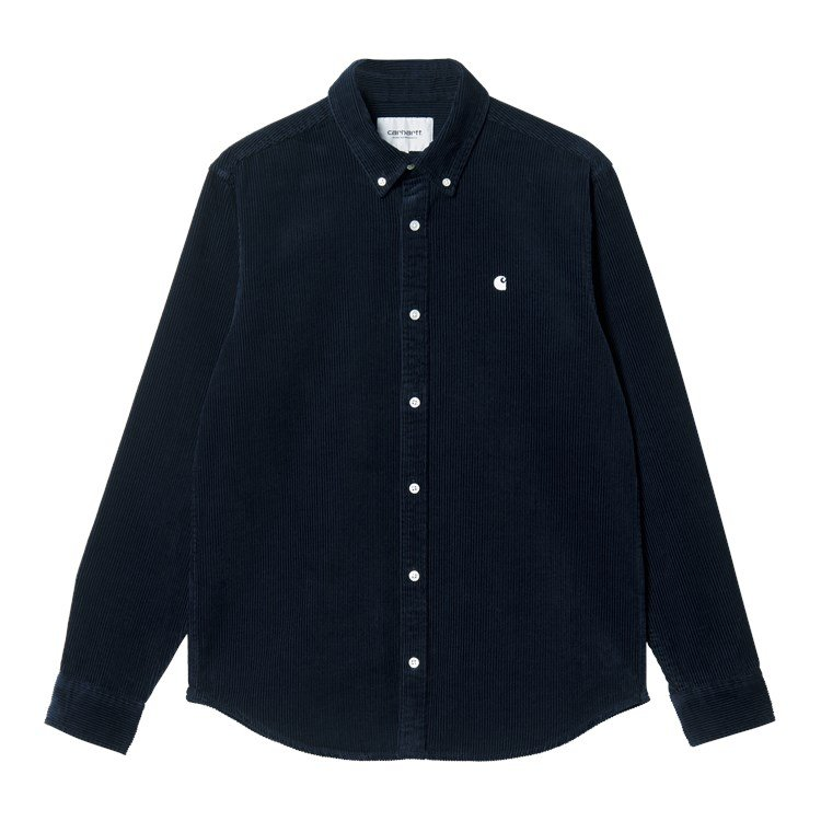 L/S Madison Cord Shirt Astro / Wax