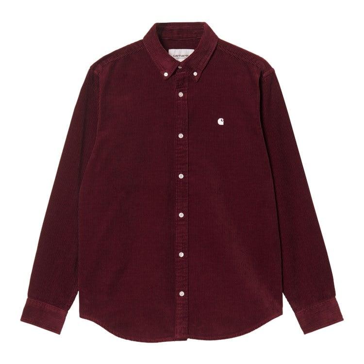 L/S Madison Cord Shirt Jam