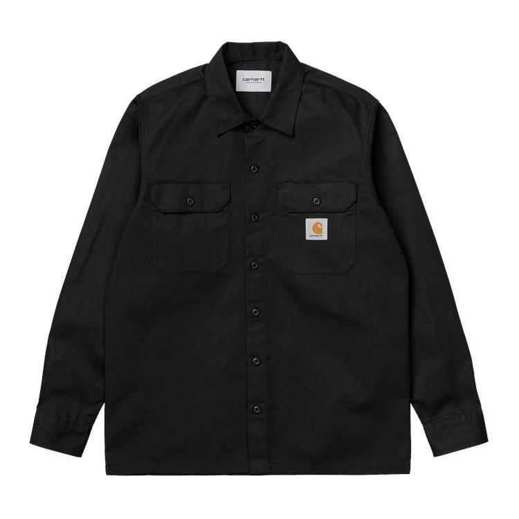 L/S Master Shirt Black