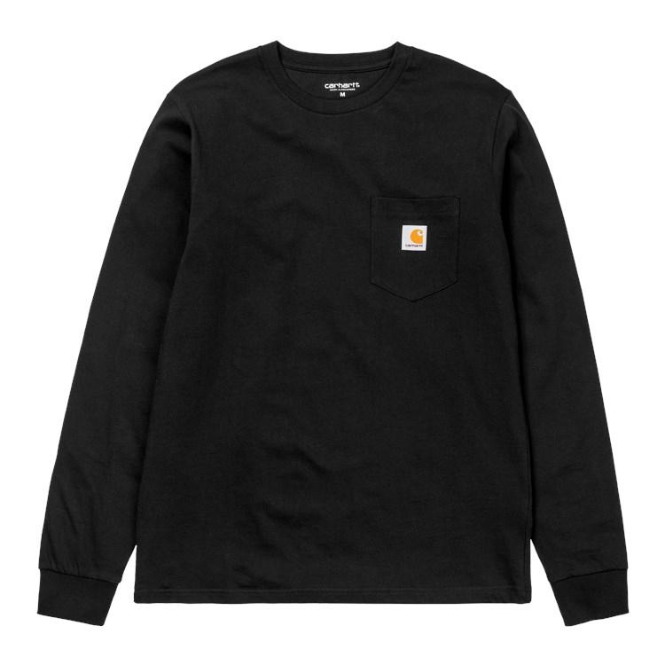 L/S Pocket T-Shirt Black