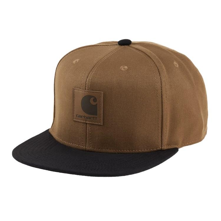 Carhartt WIP Logo Cap Bi-Colored Hamilton Brown / Black