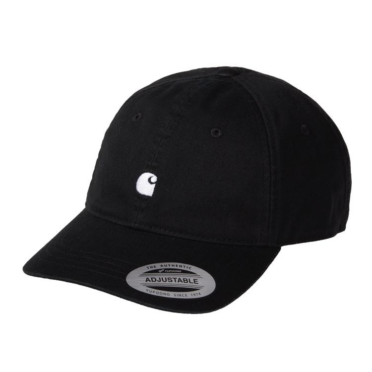 Madison Logo Cap Black / White