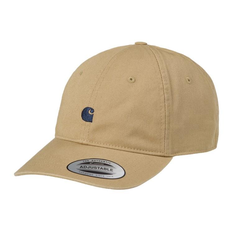 Madison Logo Cap Leather / Dark Navy