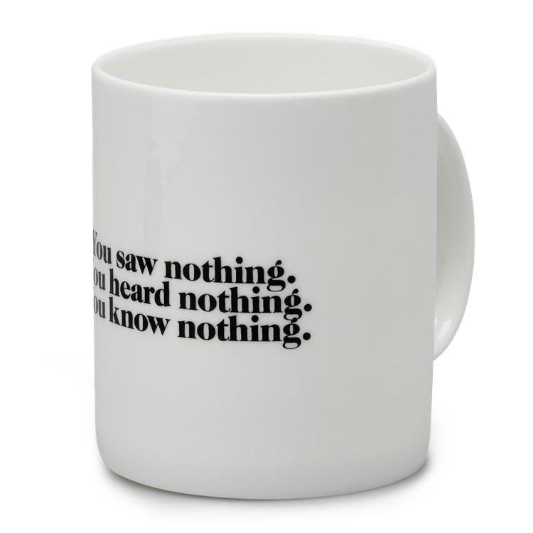Carhartt WIP Nothing Mug White