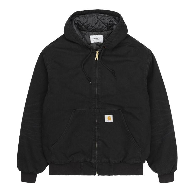 OG Active Jacket Black Aged Canvas