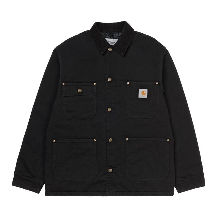 OG Chore Coat Black / Black Aged