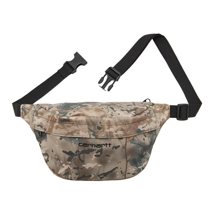 Carhartt WIP Payton Hip Bag Camo Combi, Desert / Black