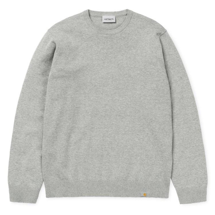 Carhartt WIP Playoff Sweater Grey Heather