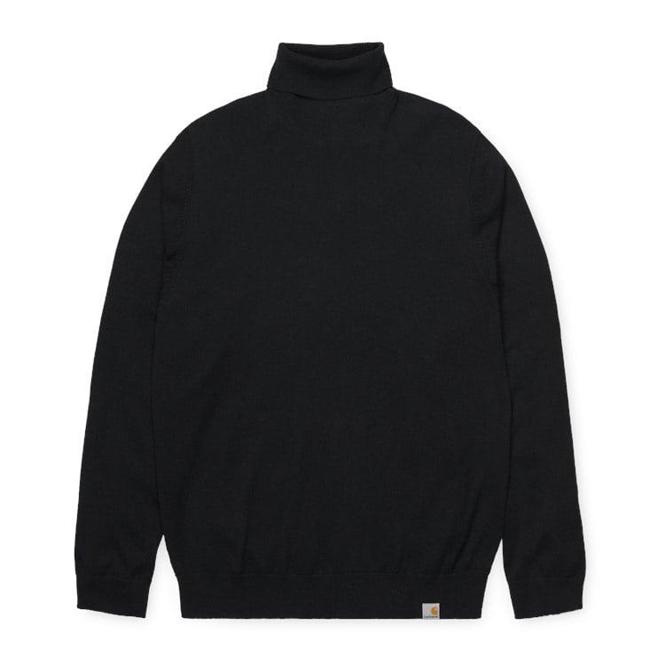 Carhartt WIP Playoff Turtleneck Sweater Black