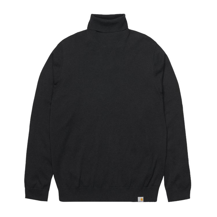 Playoff Turtleneck Sweater Black