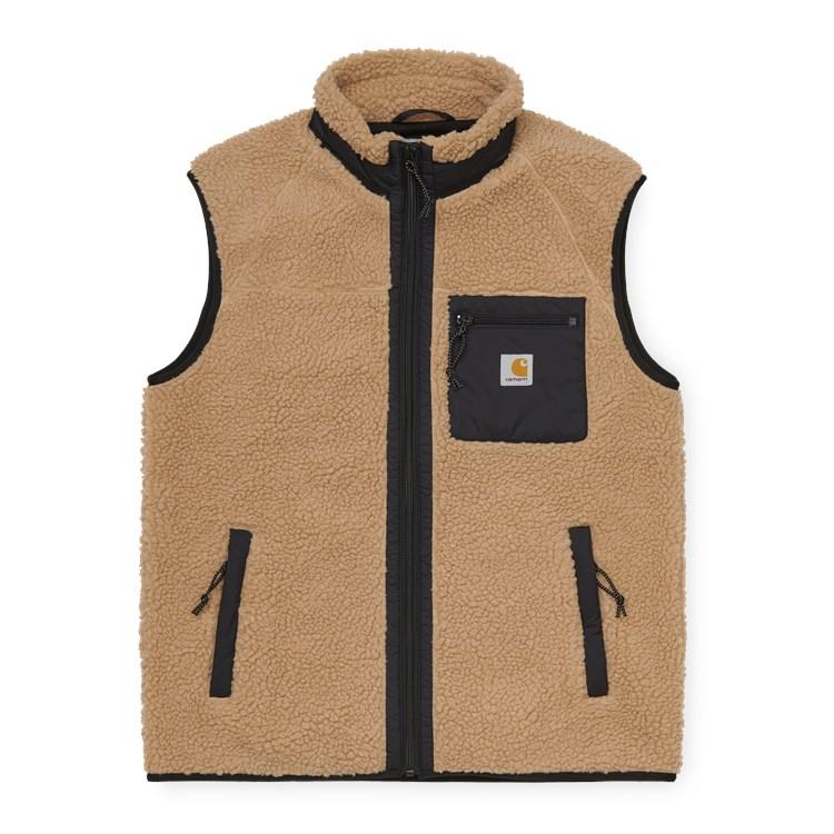 Carhartt WIP Prentis Vest Liner Dusty H Brown